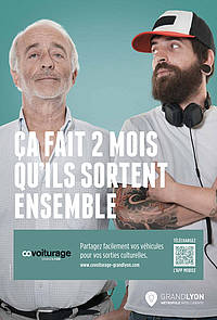 Campagne d'affichage covoiturage
