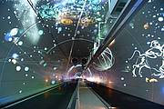 Tube modes doux du tunnel de la Croix Rousse © Métropole de Lyon - Jacques Léone - 2013