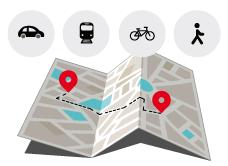 Téléchargez les différents plans du territoire au format PDF, et préparez vos déplacements en toute tranquillité